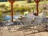 Zahradní stůl TAVIO 160x90x74cm, tahokov - foto3