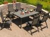 Zahradní stůl CREATOP 160x95x74cm, hliník - foto4