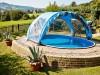 Bazénové zastrešenie Azuro ovál 6,2x4,1m - foto2