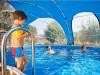 Bazénové zastrešenie Azuro ovál 6,2x4,1m - foto3