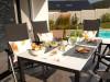Doska stola biela 160x89cm, duranite - foto6